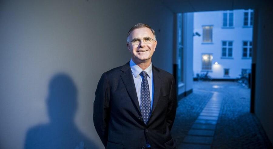 Genmabs topchef Jan van de Winkel var oprindelig forskningschef, men bestyrelsen opfordrede ham gentagne gange til at overtage posten som topchef for selskabet. Foto: Nikolai Linares