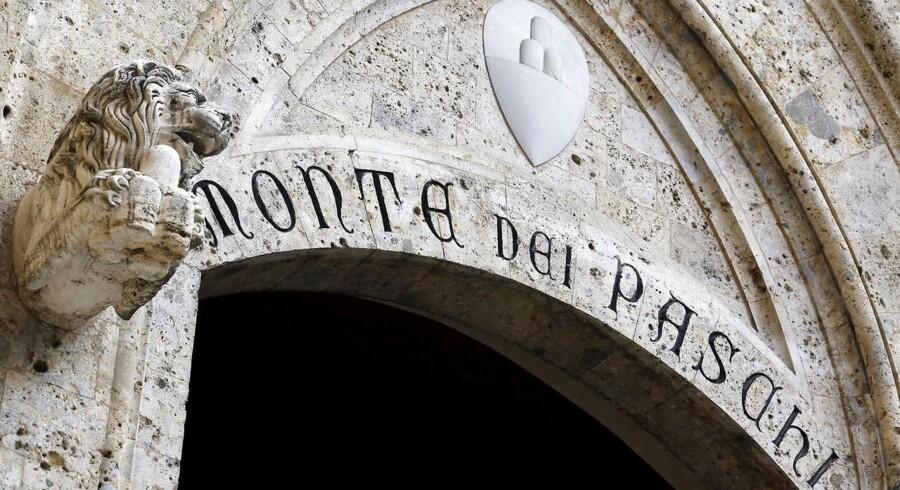 Verdens ældste bank, Banca Monte dei Paschi di Siena, er igen blevet genstand for opkøbsspekulationer. Arkivfoto.