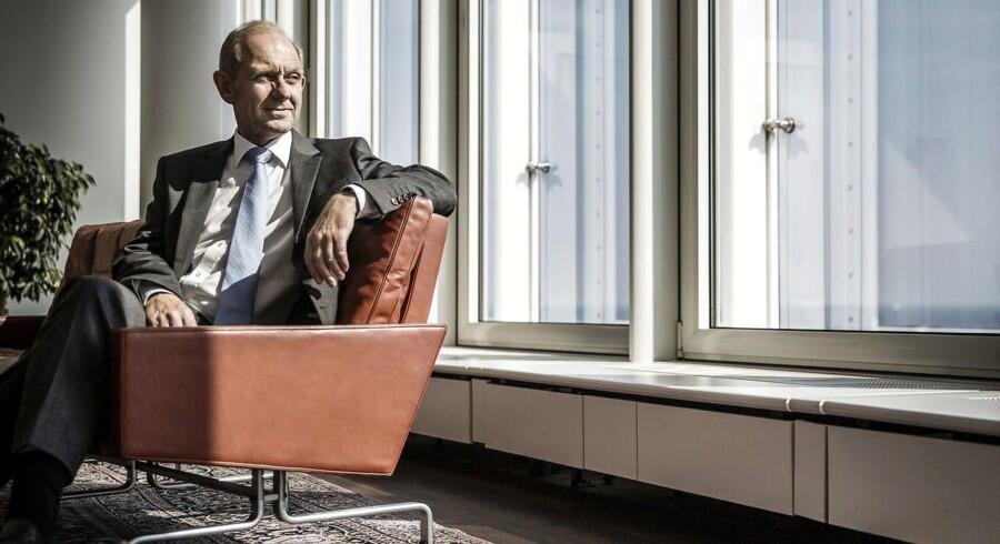 Alm. Brand. Alm Brands adm. direktør Søren Boe Mortensen.