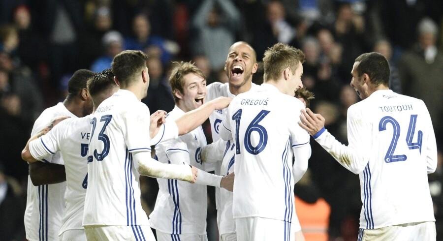 FCK slog tirsdag aften Viborg med 4-0 i Superligaen. Scanpix/Olafur Steinar Gestsson