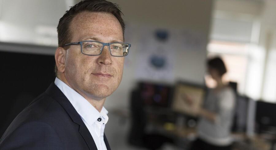 Waoos topchef, Jørgen Stensgaard, havde egentlig sagt op men bliver nu alligevel på sin post og gør klar til nye tiltag inden for kort tid. Foto: Waoo