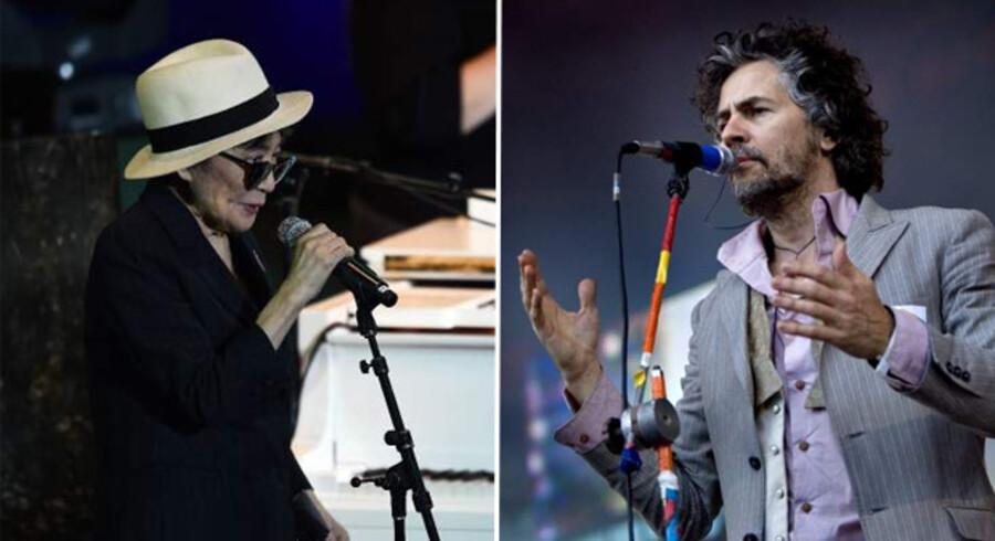 Yoko Ono og det amerikanske psychrock-band The Flaming Lips, står for denne juls store musikalske overraskelse, idet de går sammen om et covernummer af John Lennons berømte julehit »Happy X-mas (War Is Over)«.