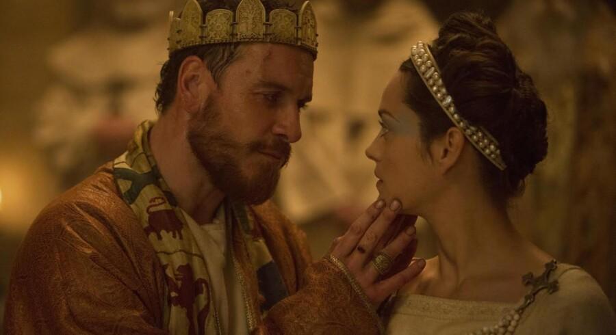 Der er tryk på både billedside og skuespil i Justin Kurzels vilde og voldsomme »Macbeth« – med Michael Fassbender og Marion Cotillard I hovedrollerne. PR-foto