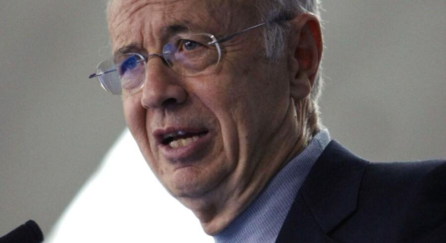 Flere af verdens største erhvervsikoner er sprunget til tasterne og har udtrykt deres sorg over tidligere Intel-direktør og legende i Sillicon Valley Andy Groves død. Arkivfoto.