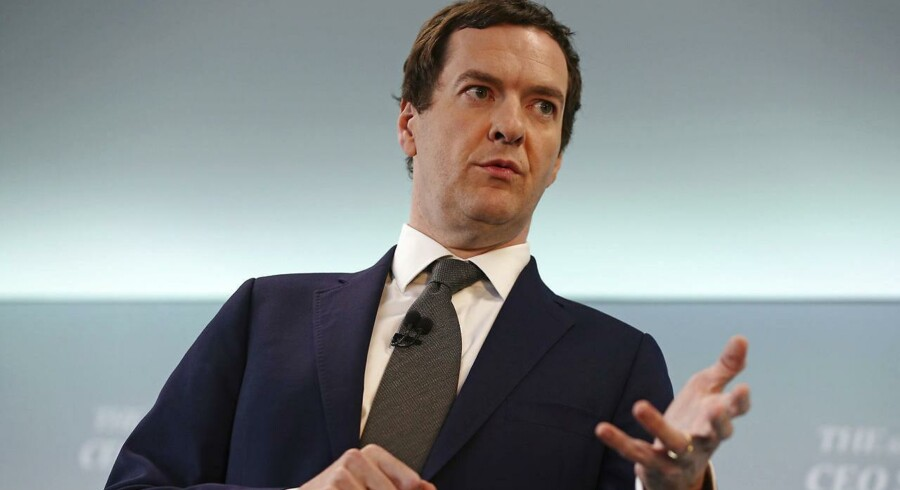 Den britiske finansminister, George Osborne, har fremlagt et forslag om at sænke selskabsskatten til et europæisk bundniveau.
