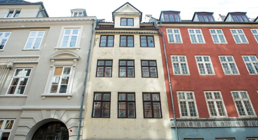 PFA-bygninger. Her Store Strandstræde 8-16/Nyhavn 11 (karré) København K.