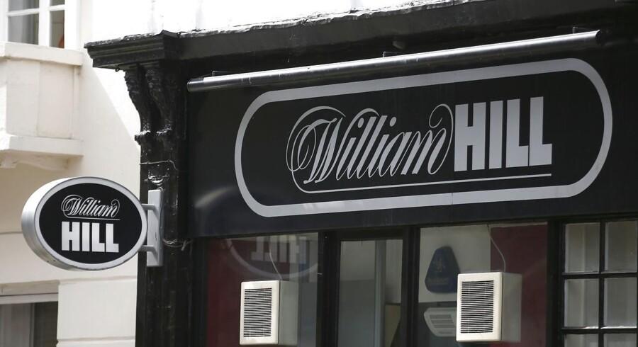 Med formiddagens stigning i William Hills aktiekurs er markedsværdien af gamblingkoncernen oppe på 2,9 mia. pund.