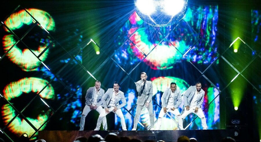 ARKIVFOTO: Melodi Grand Prix