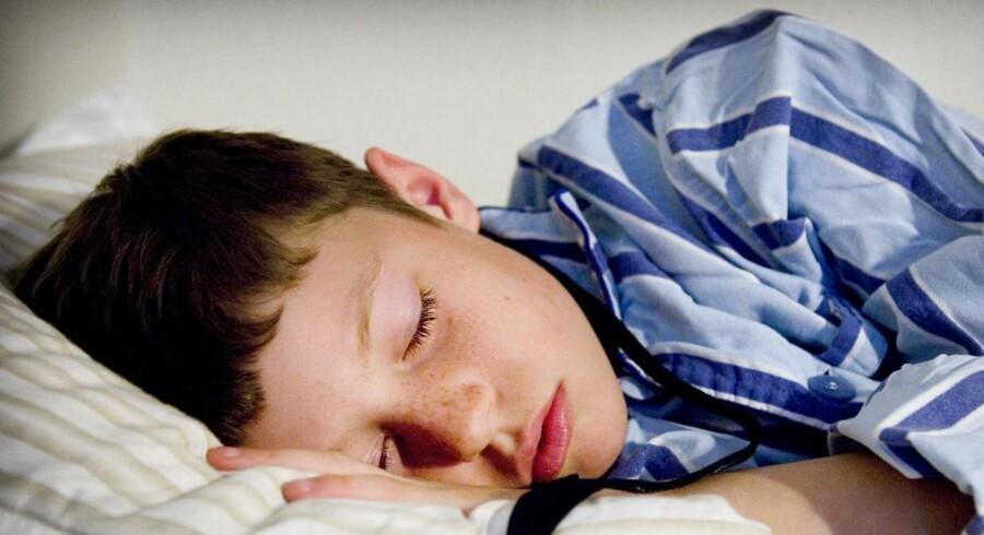 ARKIVFOTO. Børn og unge får udskrevet sovemedicin i stor stil.