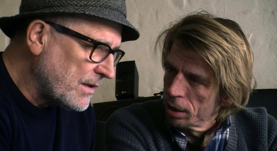 Lars H.U.G. (tv.) og producer Povl Kristian. Foto: PR