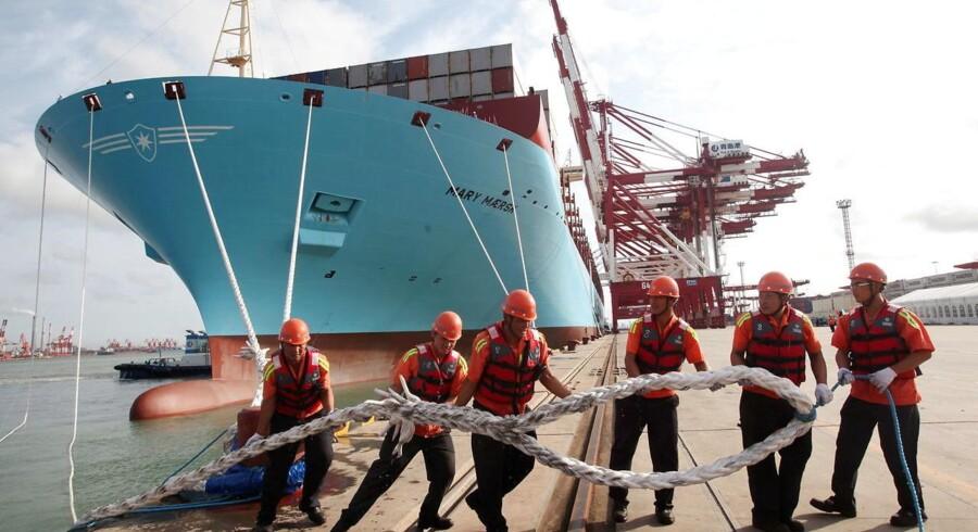 Mary Maersk.