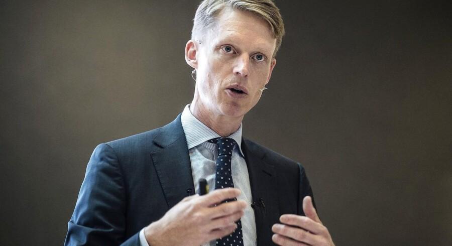 Henrik Poulsen, administrerende direktør for DONG.