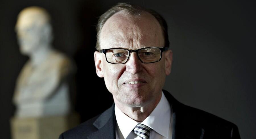 Carlsbergs formand Flemming Besenbacher mener ikke, at regeringens skattepolitik er liberal politik.