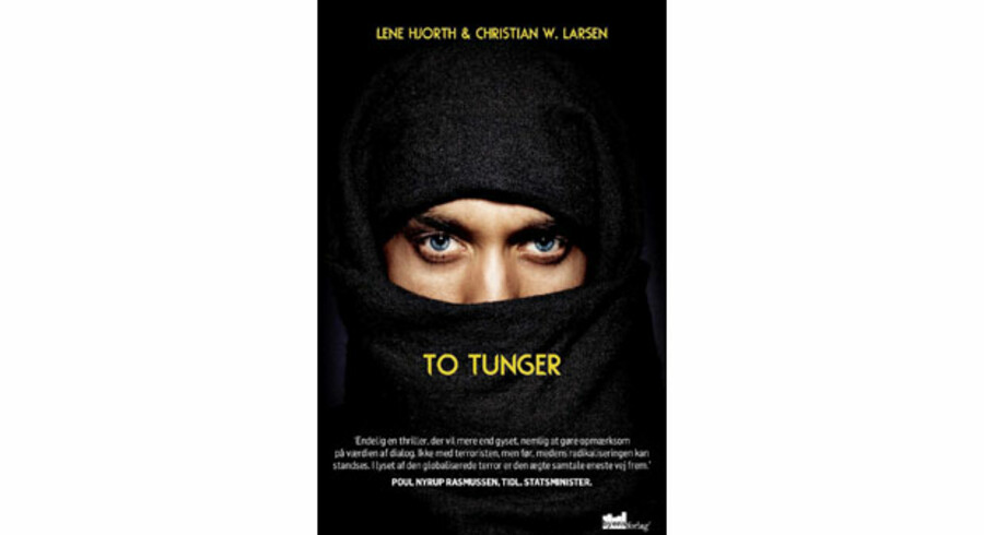 Lene Hjorth og Christian W. Larsens thriller »To tunger«.