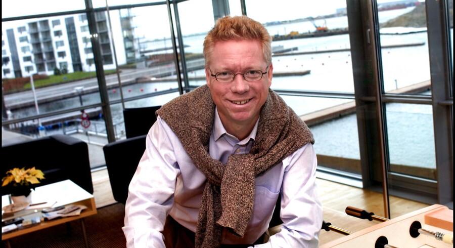 Iværksætter Per Tejs Knudsen, stifter af nyt firma, CBrain.