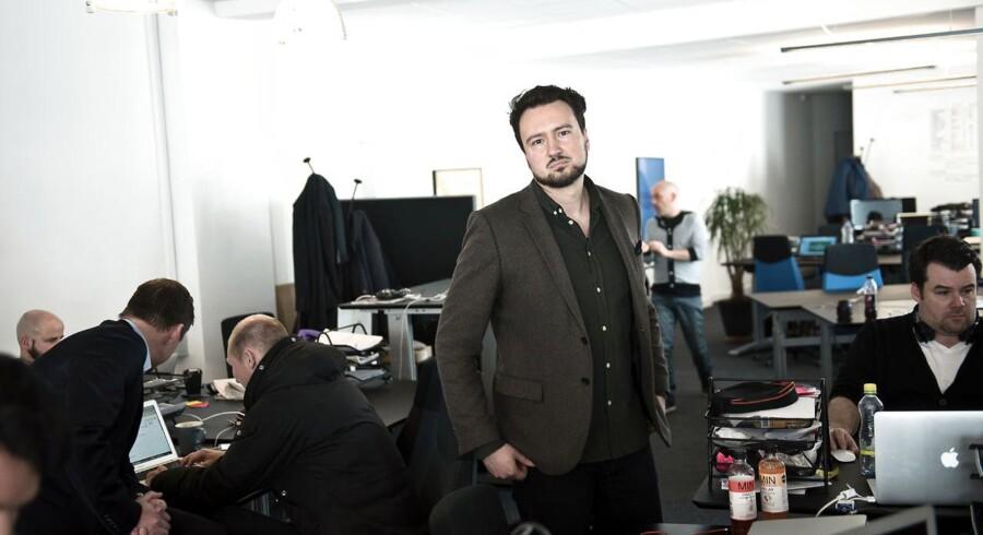 Efter medvind i USA kigger Falcon Social og stifter Ulrik Bo Larsen nu mod Tyskland.