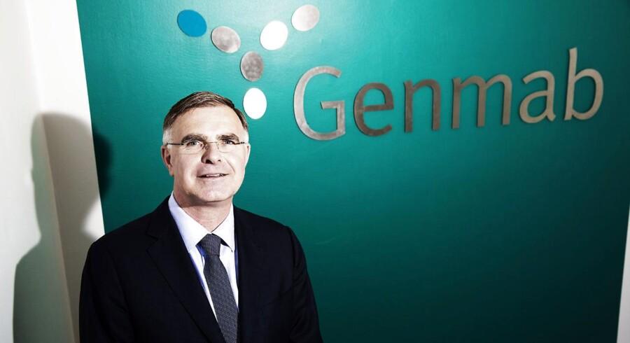 Genmabs topchef Jan van de Winke.