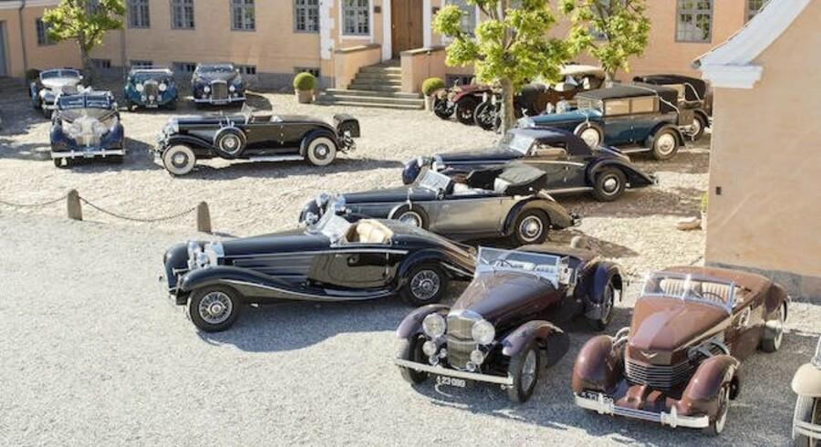 Flere af de sjældne og uhyre velholdte biler ventes at indbringe langt over en mio. kr. på auktionen. Hele samlingen er vurderet til 274 mio. kr.