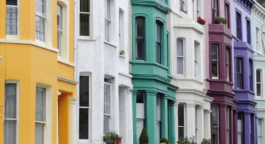 I London stiger huspriserne nu igen.