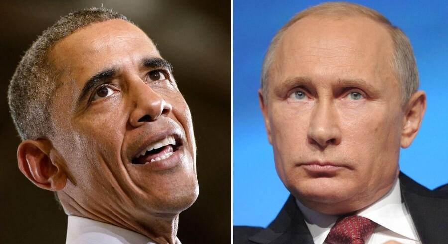 For andet år i træk er kåret Vladimir Putin blevet kåret som verdens mest magtfulde mand, mens Barack Obama må tage til takke med en andenplads.