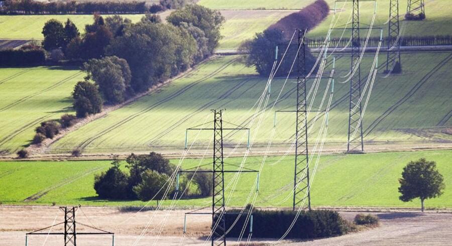 ARKIVFOTO. På trods af, at der er sket et fald i elpriserne herhjemme, har Danmark stadig den europæiske rekord i elpriser.