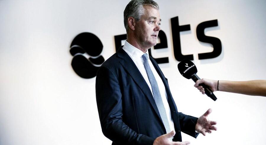 Nets skal på Børsen. Pressemøde med Bo Nilsson. (Foto: Liselotte Sabroe/Scanpix 2016)
