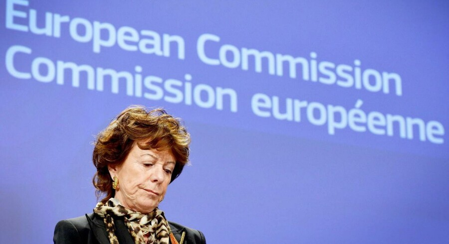ARKIVFOTO: Tidligere EU-kommissær Neelie Kroes.