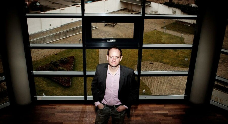 I år ventes den samlede omsætning på det danske IT-marked at runde 76 mia. kr. mod 74,3 mia. kr. sidste år, og næste år vokser den yderligere til 77,4 mia. kr., viser den nyeste IT-barometermåling fra analysefirmaet IDC i samarbejde med brancheforeningen IT-Branchen. Her ses analysechef Anders Elbak fra analysehuset IDC.