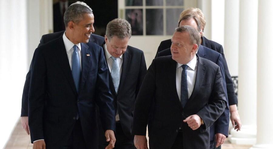 Statsminister Lars Løkke Rasmussen har sammen med de nordiske statsledere besøgt USA og præsident Barack Obama. Med i kufferten hjem til Danmark er en underskrevet aftale med USA om, at Danmark stiller sin viden om vindenergi til rådighed for de amerikanske myndigheder.