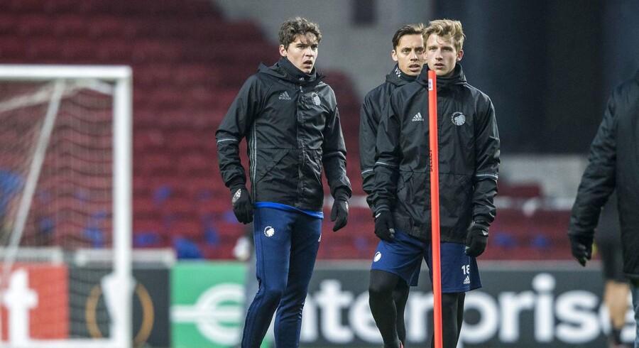 Robert Skov glæder sig til sin første europæiske klubkamp, men minder om, at det er en kamp som alle andre.
