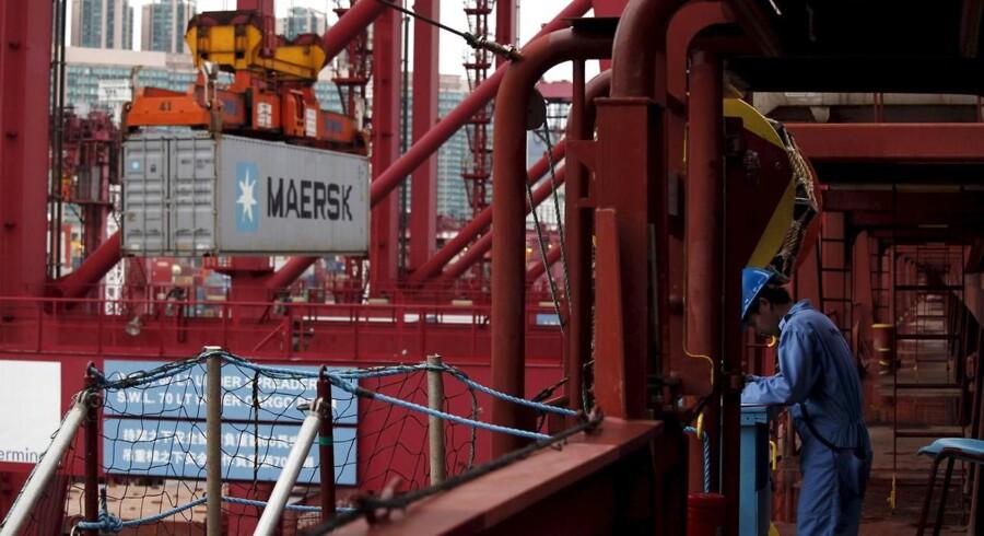 A.P. Møller-Mærsks olie- og gasselskab, Maersk Oil, har påbegyndt konstruktionen af overdelen til den platform, der skal bruges til Culzean-gasprojektet i Nordsøen. Det skriver Maersk Oil i en pressemeddelelse. REUTERS/Bobby Yip/Files