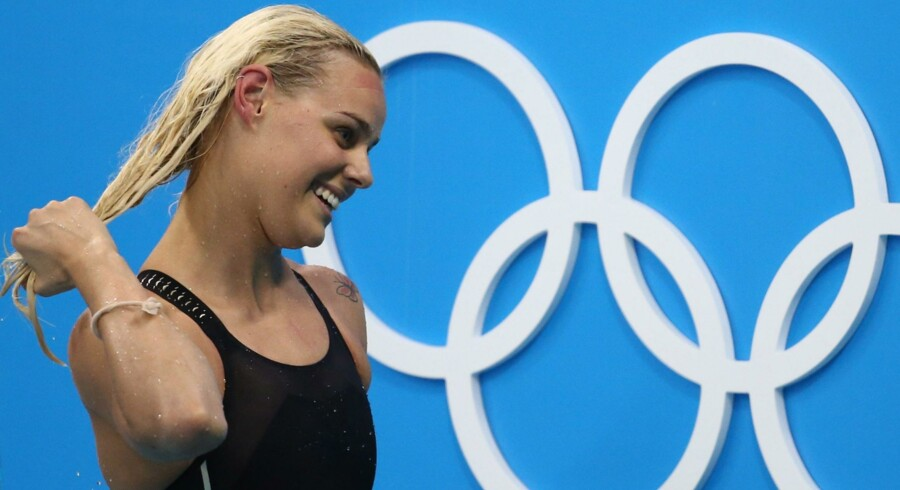 Pernille Blume er finaleklar i 50 meter fri. Reuters/Marcos Brindicci