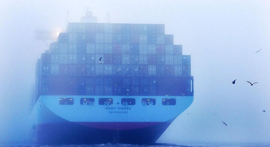 Hvor længden på skibene hidtil har været udfordringen, så står Maersk Line nu over for en ny: Højden. (Foto: Roland Magunat)