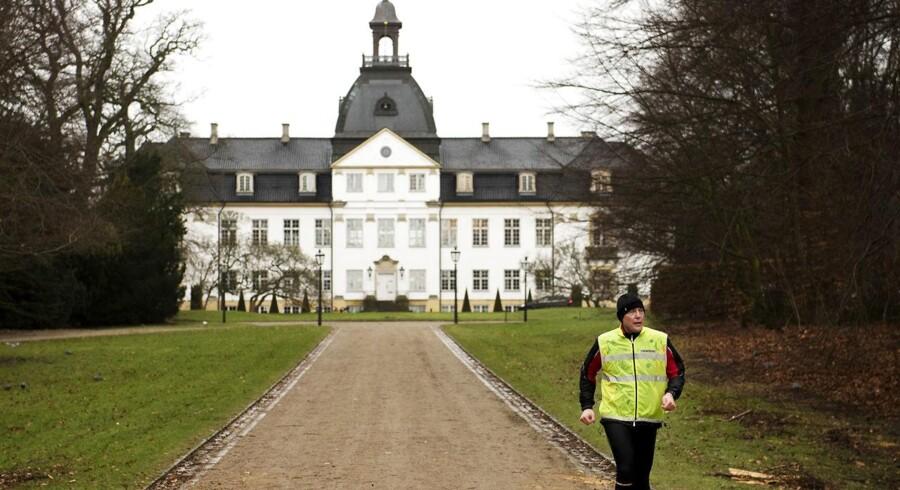 Gentofte Kommune har i kig på bygningerne ved Charlottenlund Slot som flygtningeboliger.
