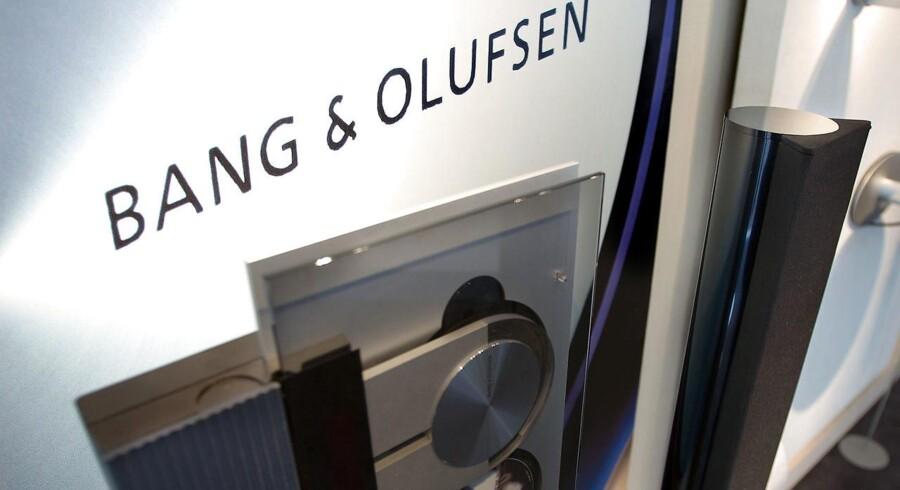 Noget tyder på, at nogle store aktionærer i Bang & Olufsen mener, at 85 kroner per aktie er for lav en pris for det danske industriklenodie, der har sat sig selv helt eller delvist til salg. (Foto: Henning Bagger/Scanpix 2016)