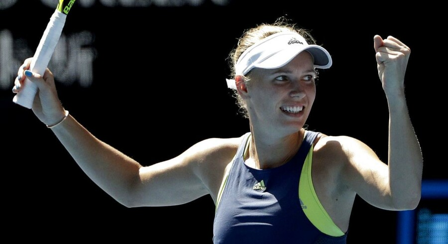Caroline Wozniacki er den mest vindende tennisspiller, der aldrig har vundet en grand slam-titel ifølge medie.