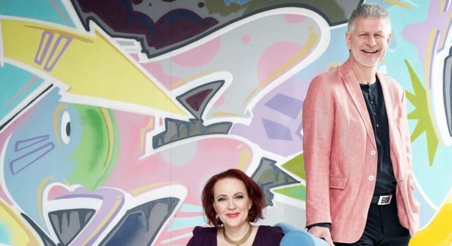 Mette Rode og Bengt Sundstrøm har sammen udviklet et traditionelt auktionhus til en af Europas største onlineauktionshuse. Ægteparret er i gang med at ekspandere Lauritz.com i flere europæiske lande. PR-foto