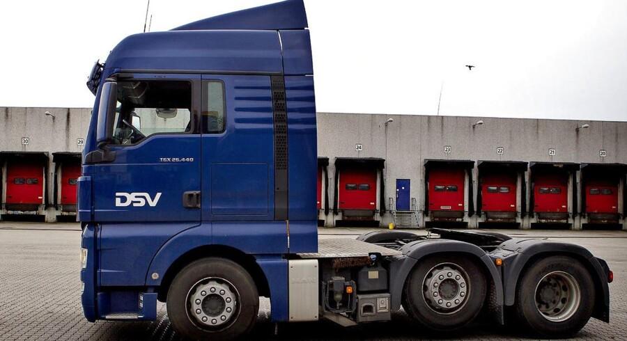 Arkivfoto. Transport- og logistikkoncernen DSV fortsætter med at køre op i nye rekordniveauer.