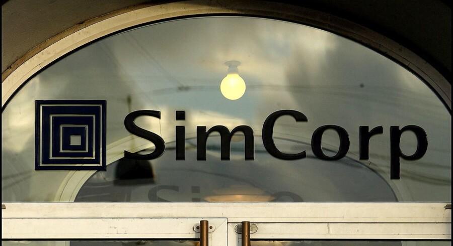 Simcorp landede blandt andet tre nye kontrakter i Nordamerika i første kvartal.