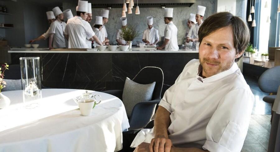 Chefkok på Geranium, Rasmus Kofoed, har fået en sur smiley af Fødevarestyrelsen.