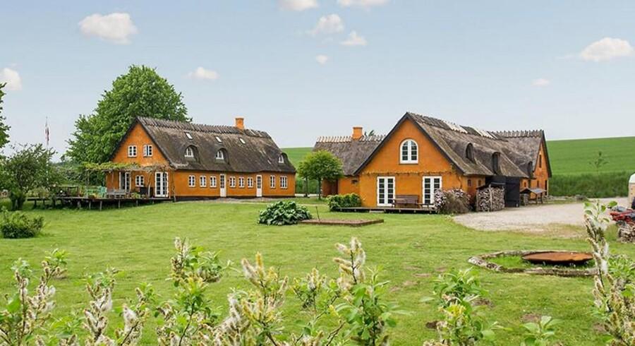 Sangerinden vil have næsten 10 millioner for sit hus i Nordsjælland. (Foto: Ivan Eltoft Nielsen)