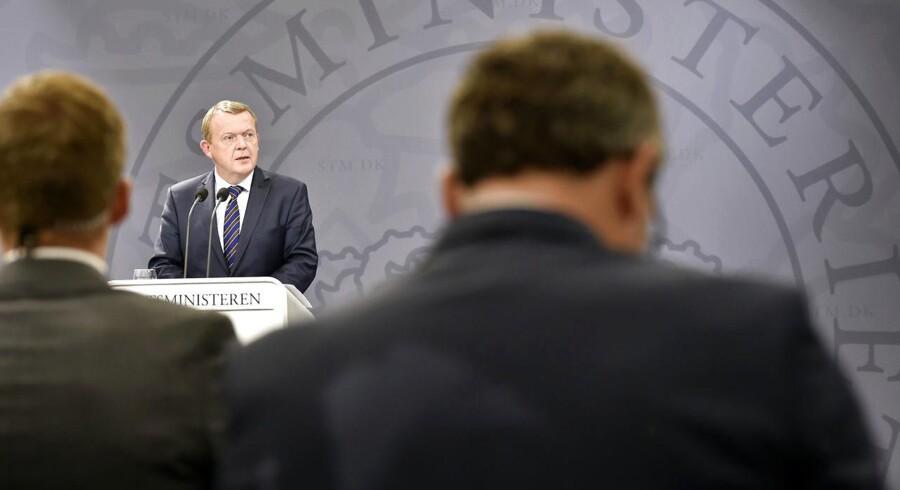 Statsminister Lars Løkke Rasmussen. (Foto: Erik Refner/Scanpix 2015)