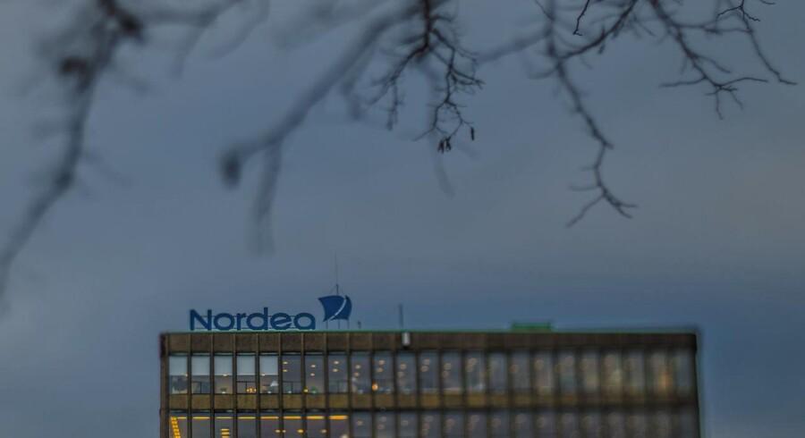 Nordea er en af bankerne bag det kriseramte OW Bunker. Arkivfoto.