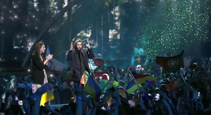 Portugals Salvador Sobral løb med sejren til årets internationale Melodi Grand Prix.
