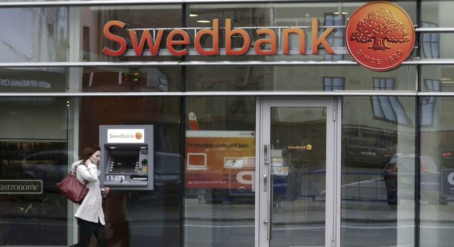 Swedbank. REUTERS/Ints Kalnins/Files