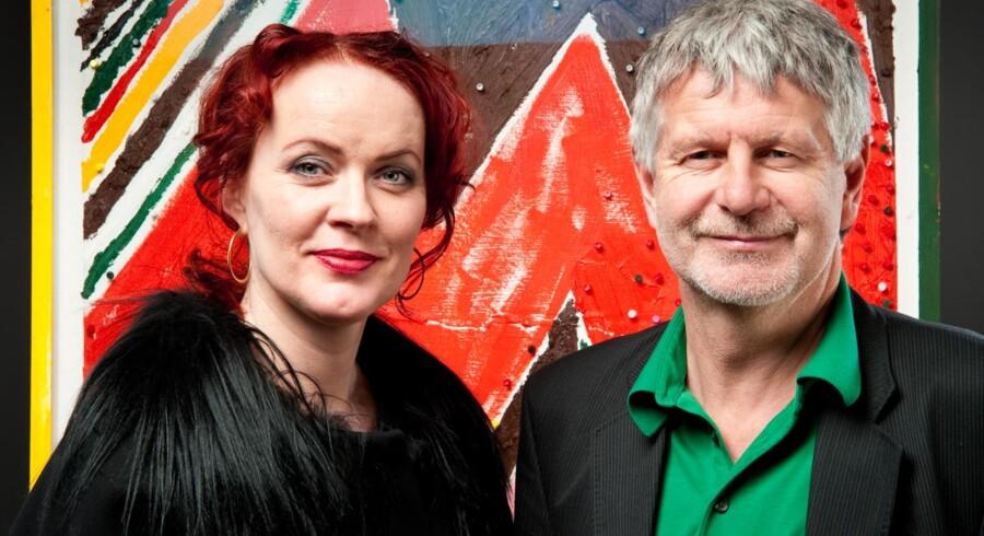 Ægteparret bag Lauritz.com, Bengt og Mette Rode Sundstrøm. Han er bestyrelsesformand og hun er administrerende direktør.