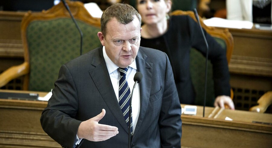 Arkivfoto. Venstres formand Lars Løkke Rasmussen.