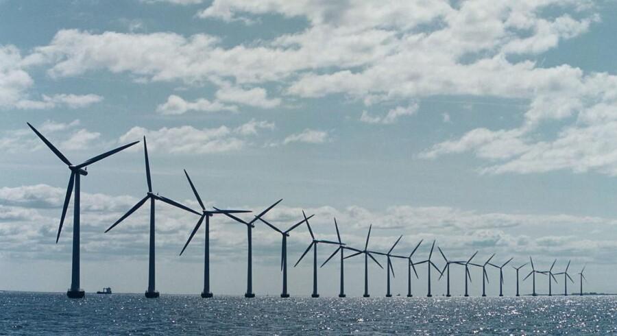 Det er fortsat regeringens politik at afvise buddet fra Vattenfall og ikke opføre 350 MW kystnære vindmøller. Arkivfoto. SØREN BIDSTRUP/Scanpix 2016