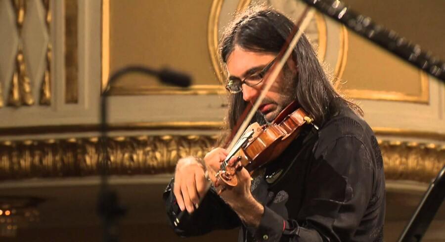 Violinisten og dirigenten Leonoda Kavakos odtager Sonnings Musikpris 2017