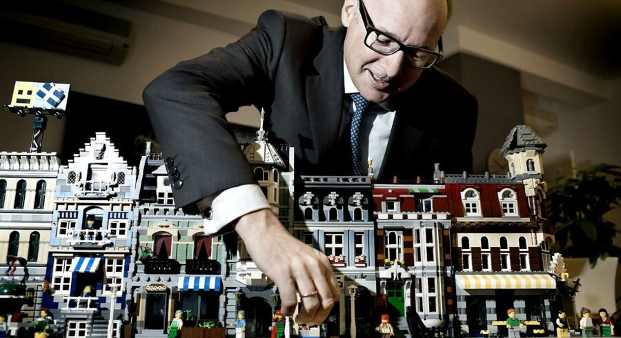 Søren Thorup Sørensen er chef for Lego-familiens pengetank Kirkbi, som vil supplere opkøb med udlån via virksomhedsobligationer.